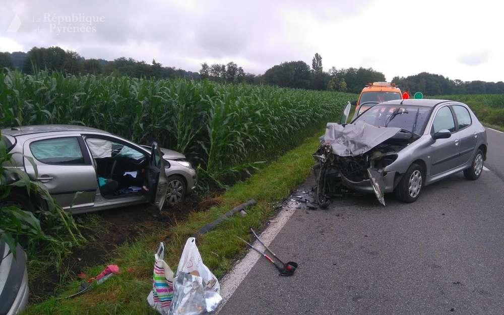 accident de la route avec dommages corporels