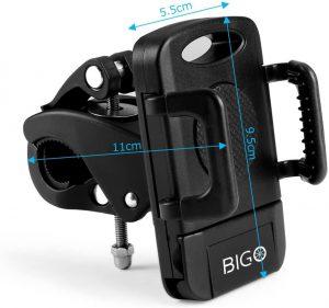 Support téléphone pour vélo du Guidon BIGO