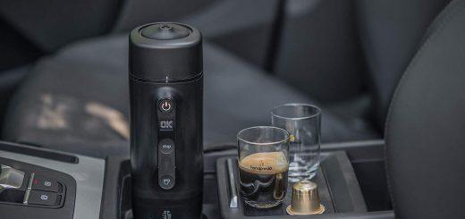Machine à café portable pour voiture - image