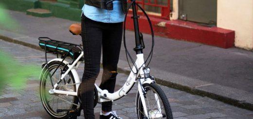 Vélo pliant - image